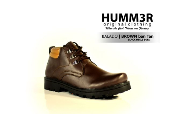 Sepatu Boots Hummer Balado Brown|Branded item|jogger|sepatu|pria|hiking Deals for only Rp285.000 instead of Rp285.000