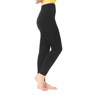 e923fdebe9f95f Women Warm Thick Fleece Fur Lined Thermal Leggings Solid Stretch Winter  Pants