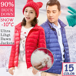 【FAST SHIPPING】Winter Down Jacket【ULTRA LIGHT】Men/Women/Children 90% Duck Down Jacket Fold