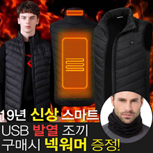 ★ ☆ ☆ ★ Free Shipping Smart USB Fever padded heating feather vest upgrade 19 year old vest