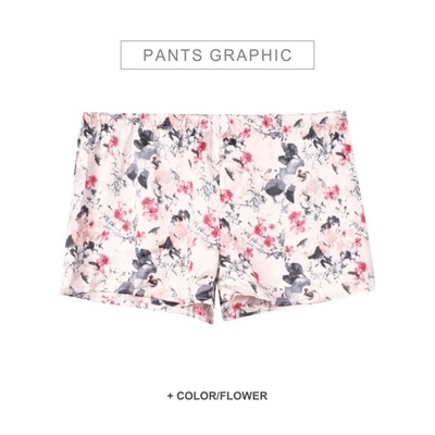 Sandy short Flower Motif