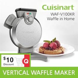 Cuisinart Vertical Waffle Maker WAF-V100KR
