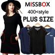 【MISSBOX】【16/10 update】500+ style 2016 S-7XL NEW PLUS SIZE FASHION LADY DRESS OL work dress blouse TOP pants short