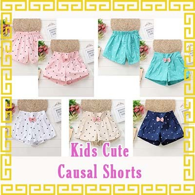Kids Cute Causal Shorts/pants/sleeve/bottom/top/pyjamas/girls/boys/children/child/kid Deals for only S$32.9 instead of S$32.9