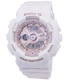 [CreationWatches] Casio Baby-G Shock Resistant World Time BA-110CH-7A BA110CH-7A Womens Watch