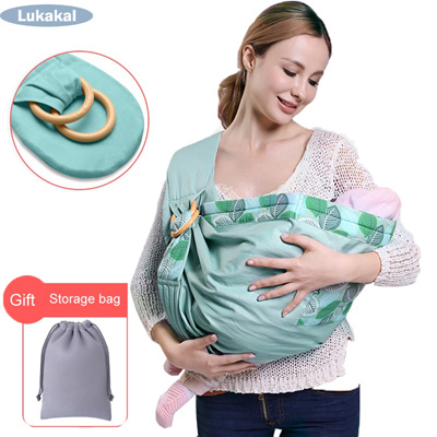 New Baby Sling Carrier For Newborn Baby Carrier Sling Load 20kgs Durable Baby Wrap Ergonomic Baby Ka