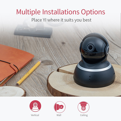 discount YI Dome Camera IP Cam 1080P Pan/Tilt/Zoom Wireless Security  Surveillance System Complete 36