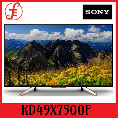 SONY TV SMART 4K UHD 49INCH KD49X7500F (49X7500F) 49 IN ULTRA HD 4K ANDROID LED TV