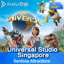 【Universal Studios Singapore】USS admission E-ticket Singapore attraction Email delivery One day pass