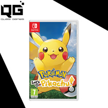 Pokemon Lets Go Pikachu (Switch) (Pre-Order)