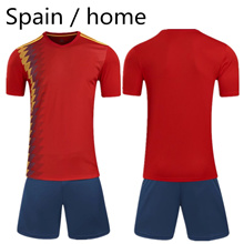 Spanish home jerseys Spanish soccer training suits (new jerseys)