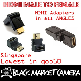 [BMC] [TIME SALE] HDMI MULTI-ANGLE ADAPTERS . MALE TO FEMALE . CONVENIENT AND SAVES SPACE {CHEAPEST SALE}