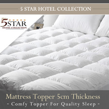 FIRST 30 SETS 5 Star Hotel Collection Mattress Topper
