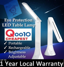 【LOWEST PRICE】Portable Rechargeable Eye Protection LED Table Lamp / Foldable Desk Light / USB Light