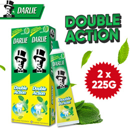 DARLIE DOUBLE ACTION  2 X 225G