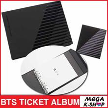 BTS TICKET ALBUM[THE WINGS TOUR][BANGTAN BOYS CONCERT GOODS]