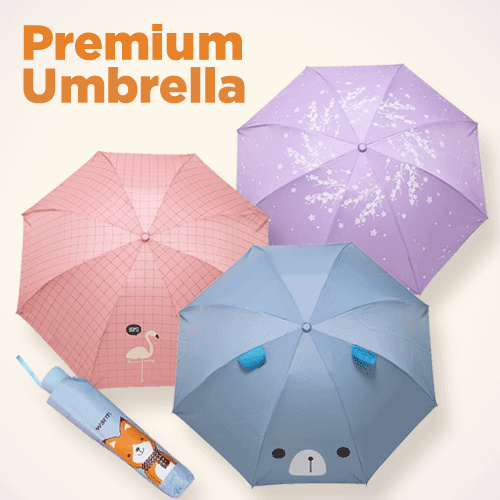 Best Quality / TABASA Payung lipat / Fancy Umbrella / Motif Animal / Product Grade A Deals for only Rp100.000 instead of Rp153.846