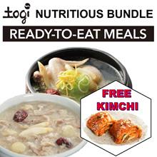 Nutritious Meals Bundle! Free Kimchi! SamGyeTang SamGyeJuk