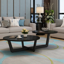 Double Round Coffee Table