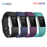 Fitbit Charge 2 Heart Rate Fitness Wristband+Free 10000mAH Power Bank