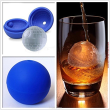 2016 Hot Sale Cool Silicone Hockey Puck Puck Circular Bar Special Silicone Mold (Color: Blue)