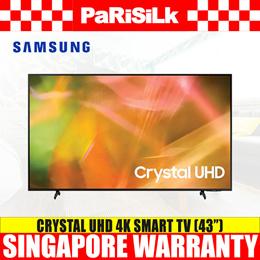 Samsung UA43AU8000KXXS Crystal UHD 4K Smart TV (43inch) (3-Year Warranty)