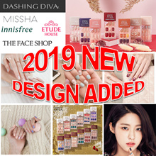 [the face shop / etude house/innisfree /missha/dashing diva magic press /nail polish/nail sticker