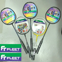 FLEET CARLTON BADMINTON RACKET BEGINNER KIDS RACQUET T JOINT LONG SHORT AVAILABLE