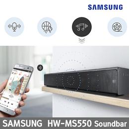 SAMSUNG Sound Bar HW-MS550 / Wireless surround sound / HD Audio / Smart sound mode