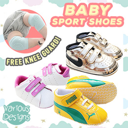 Free Knee Guard★Baby Sports Prewalkers Shoes Boy Girl Toddler★Free Shipping+CRAZY Price★Express Shpg