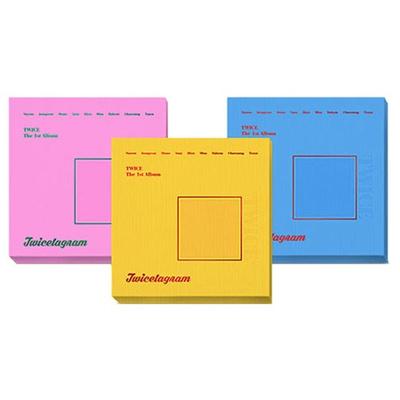 [Free Shipping RP] TWICE (TWICE) - TWICETAGRAM 1 set of ABC version set of  glossy mattress random sh