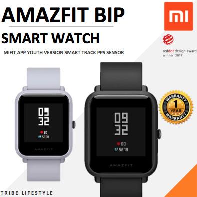 XiaomiXiaomi Huami Amazfit Bip Pace Youth Smart Watch MiFit 1 year warranty