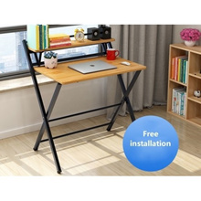 Multiple Use Adjustable Laptop Table Stand Portable Standing Bed Desk Foldable