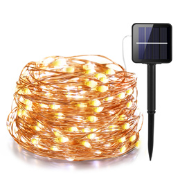 31m LED Outdoor Solar Lamp LEDs String Lights Fairy Holiday Christmas Party Garland Solar Garden