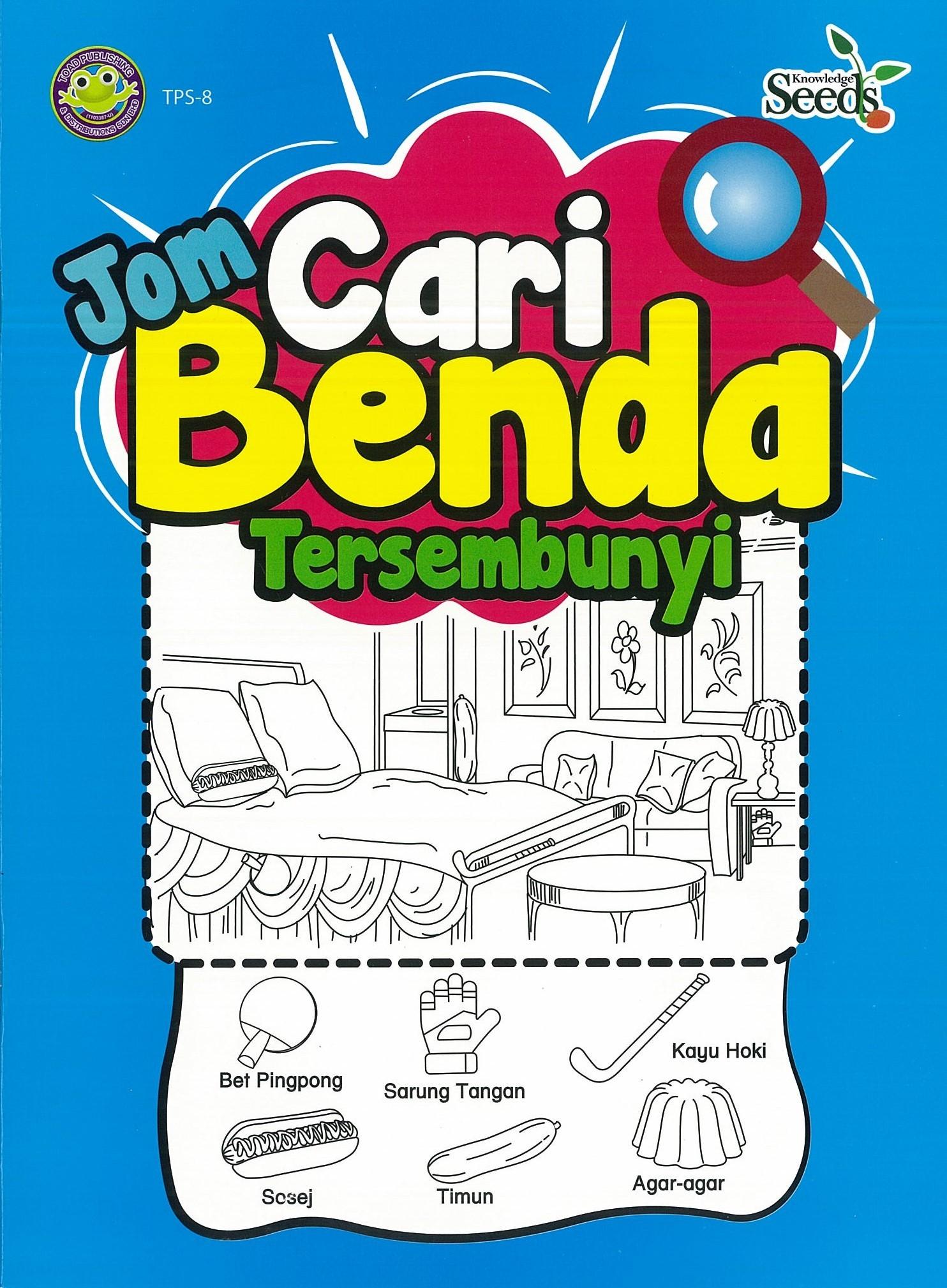 Qoo10 Buku Kanak Kanak Pra Sekolah Pre School Kid Book Toad Jom Cari Ben Collectibles B