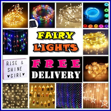 ★FREE DELIVERY CHRISTMAS FAIRY LIGHT - FROM $2.90 120 Over Models-Local Delivery-Walk in Available