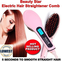 Beautiful / Beauty Star Electric Hair Straighten Straight Hair Comb~LOCAL SELLER*FAST SHIPPING*