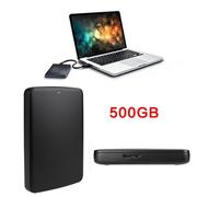 500GB Basics USB 3.0 Portable External Flash Hard Drive For Toshiba Black