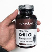 Nature bell Antarctic krill oil 1200mg 180 soft gel