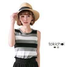 TOKICHOI - Striped Tank Top-171933