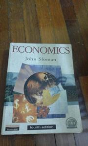 economics by john sloman (4th edition)