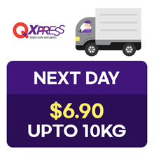 Qdelivery Service Voucher [Value S$ 6.9 / Up to 10 kg] Only for Local Delivery (Singapore)