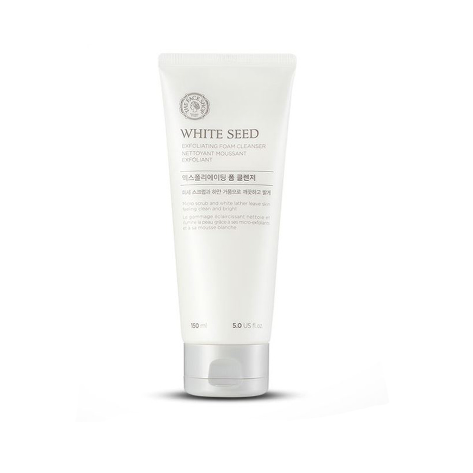The Face ShopThe Face Shop White Seed Exfoliating Foam Cleanser(150ml)