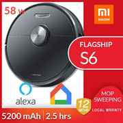 Local Delivery SG Xiaomi Roborock Flagship S6 Ultimate Clean Pro Simultaneous Mopping Sweeping