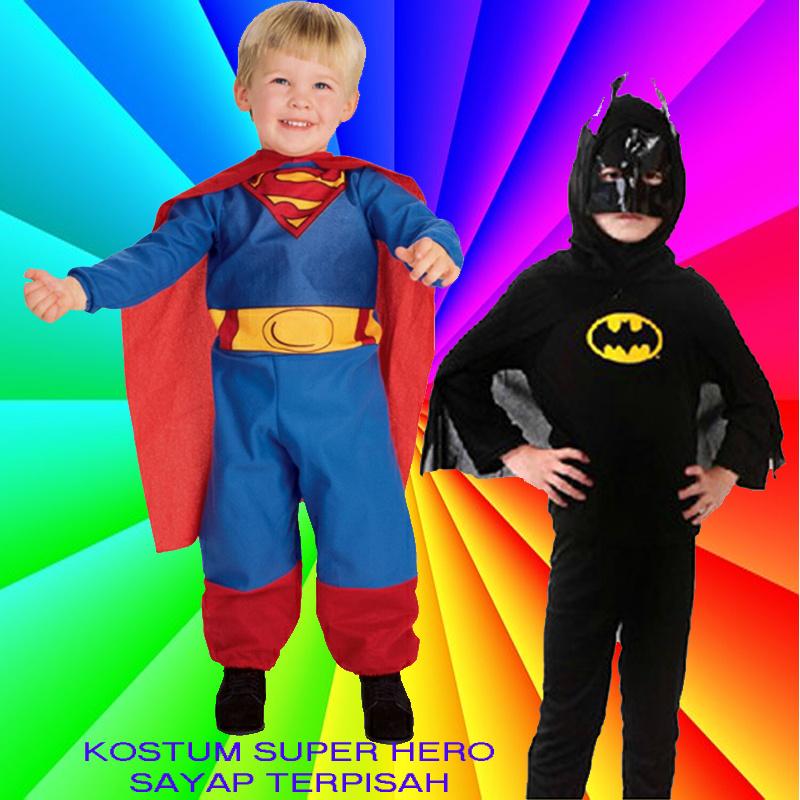 561240702.g_0 w_g qoo10 [ super murah!!! ] baju anak kostum superman dan batman,Baju Anak Anak Batman