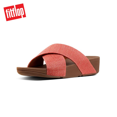 a23794ef406204 Qoo10 - Fitflop™ Lulu Mirage Slide Sandals Apple Blosso   Shoes