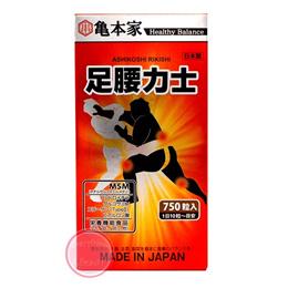 亀本家 足腰力士 750粒  コンドロイチン グルコサミン サプリメント 亀本家 健康食品