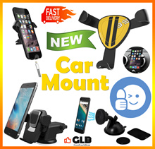2018 ♥6 Way One Touch Car Holder♥Iron claw  Air Con Vent Car Phone Holder♥Dashboard♥Magnetic