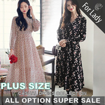15th Dec Update ♥Korean Style♥ Linen / Casual / LOOSE Fit / Dress / Plus Sizes / Encounter Dress
