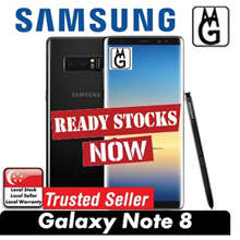READY STOCK SAMSUNG GALAXY NOTE 8/ 6GB RAM/ 64GB ROM/ LOCAL SAMSUNG 1 YEAR WARRANTY